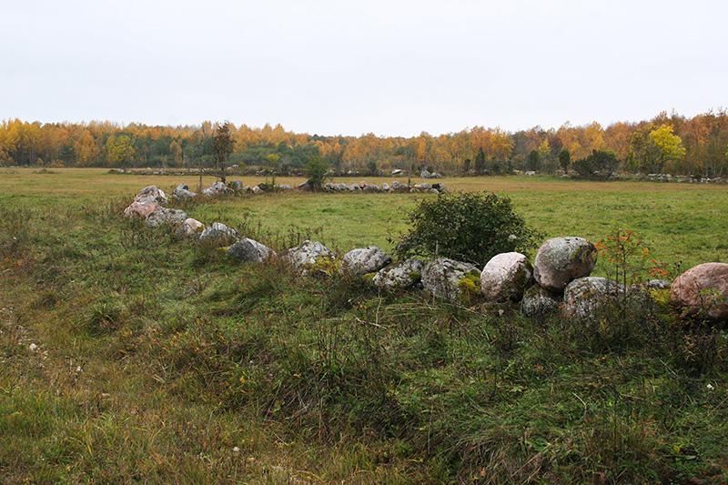 Väike-Pakri kiviaiad